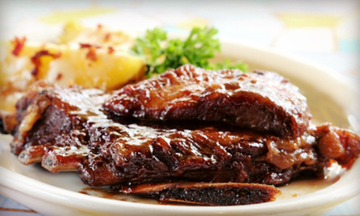 M&M Ribs - Lower Roxbury: Three Barbecue Meals or $149 for $300 Toward Catering from M&M Ribs
