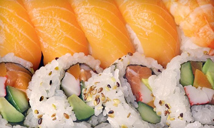 Fujiyama Sushi - Covered Bridge: $10 Worth of Japanese Food and Sushi