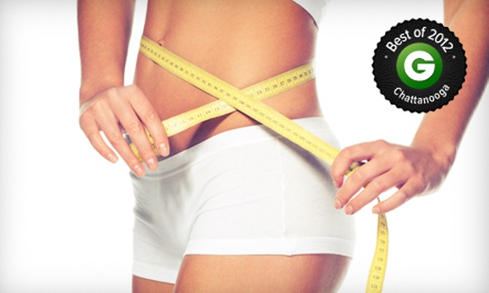Venus Med Spa - Multiple Locations: Three or Six Lipo-Laser and Body-Vibration Sessions at Express Weight Loss (Up to 85% Off)