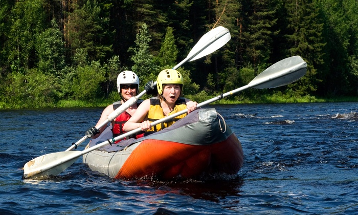 A-1 Sports and Wellness Center - Raleigh/Durham: $30 for a Three-Hour Tandem Inflatable Kayak Rental at A-1 Sports and Wellness Center ($80 Value)