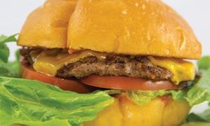 Sheridan's Frozen Custard: Burger Combo Meals at Sheridan's Frozen Custard (Up to 48% Off). Two Options Available.
