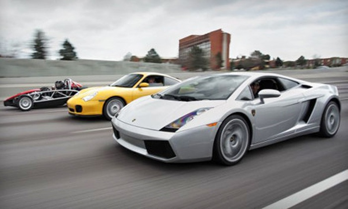 Lone Star Exotic Rentals - McKinney: $99 for a One-Hour Lamborghini-Driving Experience from Lone Star Exotic Rentals ($250 Value)