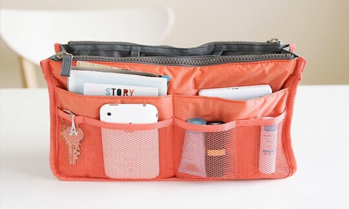 Dimoda Fashions: Two Handbag Organizers or $50 toward Jewelry from Dimoda Fashions (Up to 78% Off)