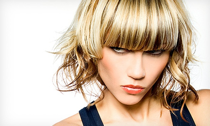 The Color Room Hair Salon - Wentzville: Haircut Package with Optional Root Touchup or Partial or Full Highlights at The Color Room Hair Salon (Up to 54% Off)