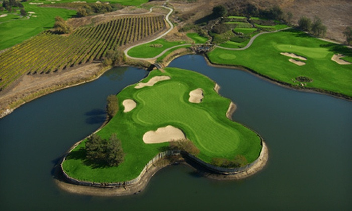 Eagle Vines Vineyards and Golf Club - Napa Valley: 18-Hole Round of Golf with Cart Rental for One, Two, or Four at Eagle Vines Vineyards and Golf Club (Up to 51% Off)