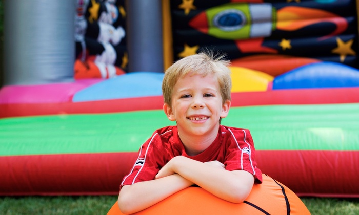Bounce Realm - Greenfield: 5 or 10 Groupons, Each Good for One All-Day Bounce Pass at Bounce Realm (Up to 55% Off)