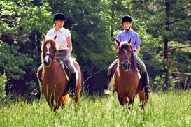 Matchmoor Riding Centre: Private Horse Riding Lesson With a One-Hour Trek at MatchMoor (Up to 54% Off)