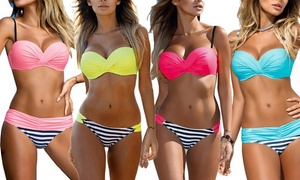 1 ou 2 bikinis brésiliens push-up