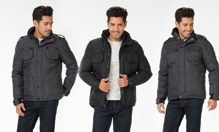 Fleet Street Men's Puffer Jacket. Multiple Styles Available from $66.99–$78.99. Free Returns.