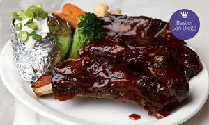 Cafe La Maze: Classic Steak-House Food and Drinks for Lunch or Dinner at Cafe La Maze (50% Off)