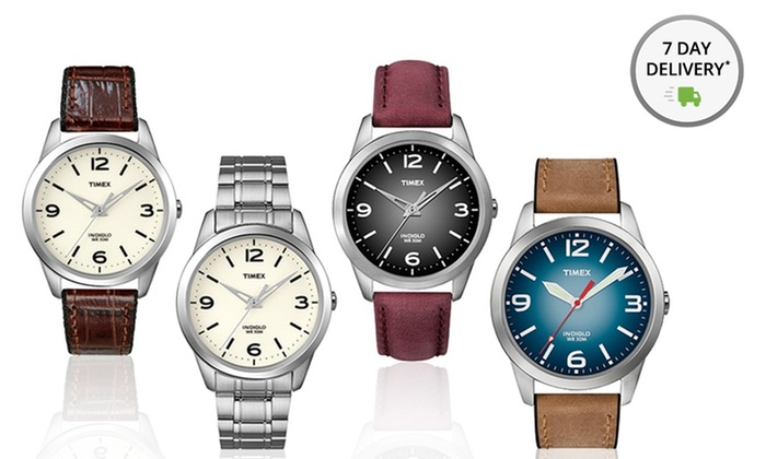 Timex Men's or Women's Weekender Watches: Timex Men's or Women's Weekender Watch. Multiple Styles Available. Free Returns.