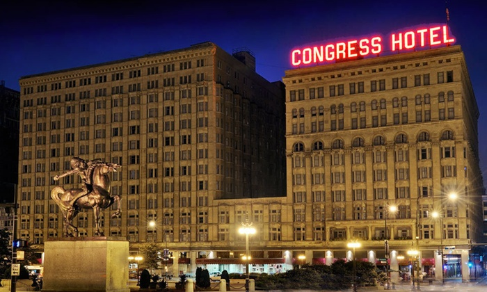 The Congress Plaza Hotel - Chicago, IL: One-Night Weekday Stay at The Congress Plaza Hotel in Chicago