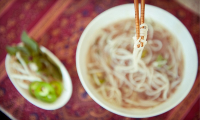 Ma Me House - Downtown: $19 for a Vietnamese Meal for Two at Ma Me House (Up to $37 Value)