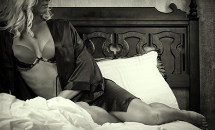 "$99 for a 90-Minute Photo Shoot with One 8""x10"" Print and Five 4""x6"" Prints at Black Dress Boudoir ($268 Value)"