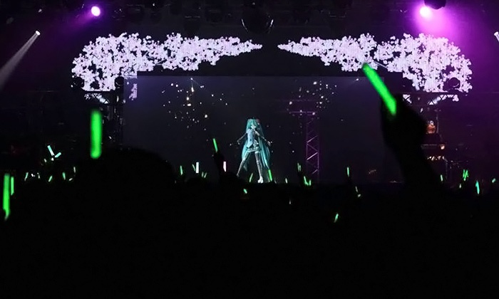 Hatsune Miku - Nokia: Hatsune Miku Expo at Nokia Theatre L.A. Live on October 12 at 12:30 p.m. (Up to 56% Off)