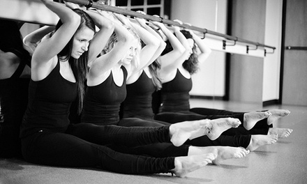 5 or 10 BarreAmped, Core Rhythm, UGI, or BUTI Yoga Classes at Serenite' Fitness (Up to 72% Off)