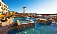 Posh Waterfront Wyndham Hotel in Cabo San Lucas