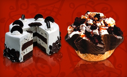 Three Groupons, Each Good for $10 Worth of Ice-Cream Treats or $12 for $20 Toward Ice-Cream Cake at Cold Stone Creamery