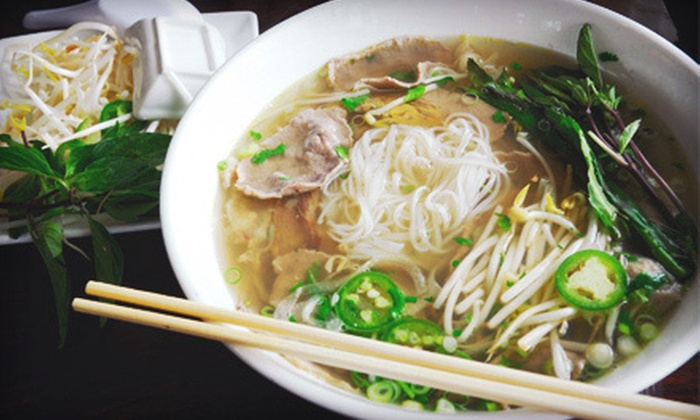 Absolute Noodle - Downtown - Penn Quarter - Chinatown: Asian Cuisine for Two or Four at Absolute Noodle (Half Off)
