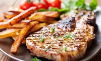 Steak Meal with Chips, Sides and Wine or Beer for Two or Four at Elements Restaurant at Rendezvous Casino (66% Off)