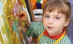 Kids Art Classes at Zebra: One-Month Membership for Beginner or Advanced Kids' Art Classes at Sixth Street Community Center (50% Off)
