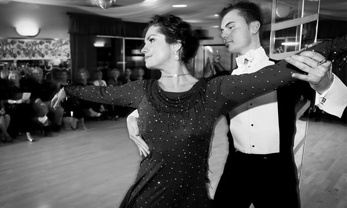 Fred Astaire Dance Studio - Multiple Locations: Two Lessons and One Practice Party or Five Lessons and Three Parties at Fred Astaire Dance Studio (Up to 71% Off)