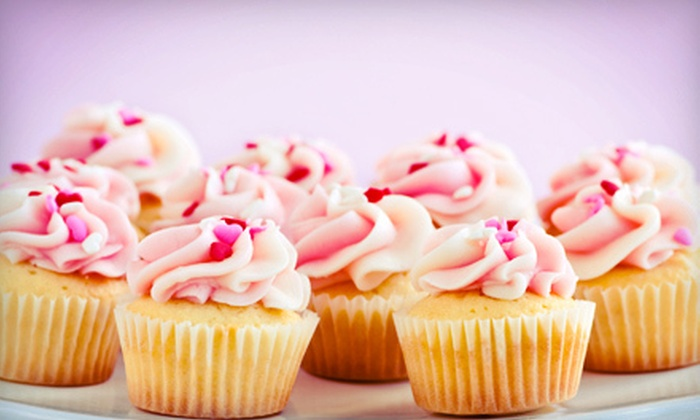Three Bakers & A Bike - Island Park: $7 for One Dozen Mini Cupcakes at Three Bakers & A Bike ($14 Value)