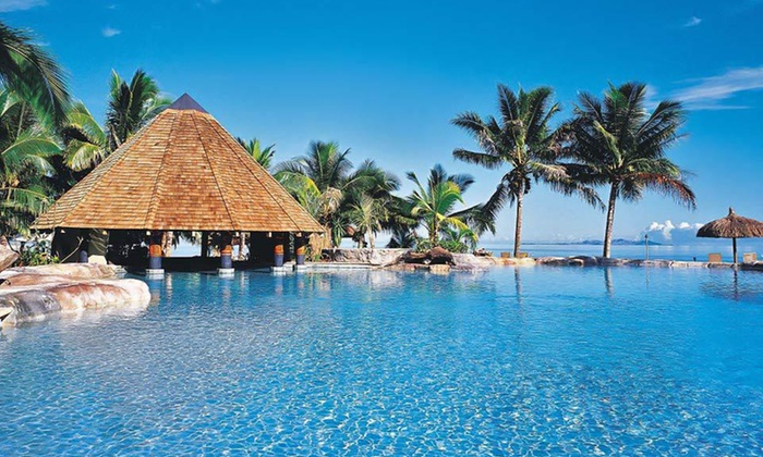 Travelscene - Lautoka: Seven- or Nine-Day Fiji Stay with Roundtrip Airfare, Accommodations, and Some Meals from Travelscene