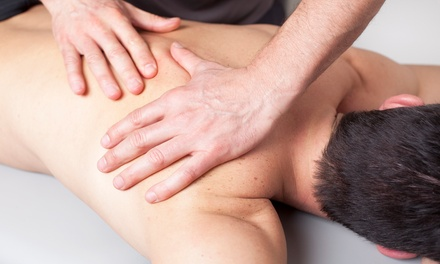 One or Three Chiropractic Exam Packages and a 60-Minute Massage at Restoration Chiropractic (Up to 90% Off)
