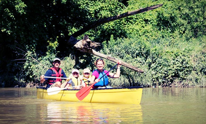 Toronto Adventures Inc. - Toronto: Canoe Rental and Lesson for Two or Two Adults and Up to Three Kids from Toronto Adventures Inc. (Up to 51% Off)
