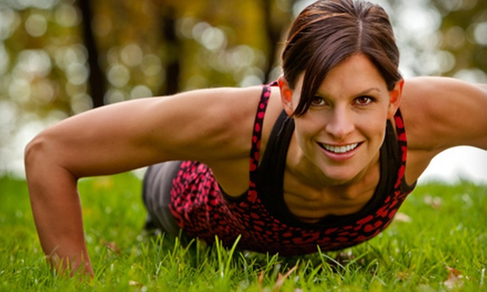 B-Town Bootcamp - Burlington: 10 or 20 Boot-Camp Classes from B-Town Bootcamp (Up to 85% Off)