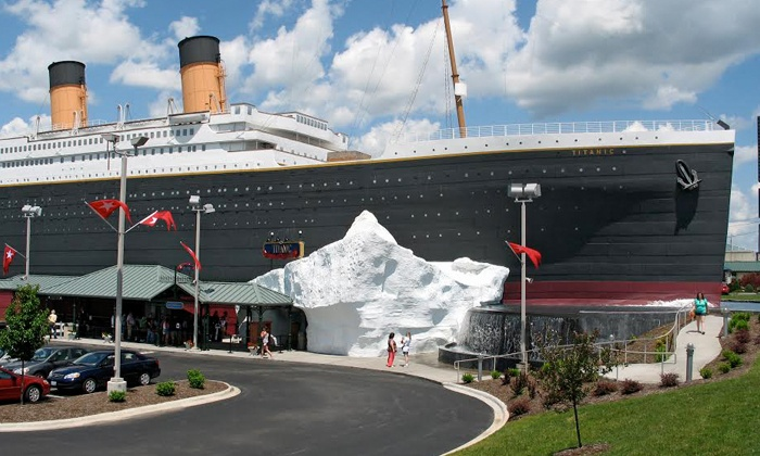Titanic Branson - Titanic Branson: $55 for a Museum Visit for Two with $25 Gift-Shop Credit at Titanic Branson ($79 Value)