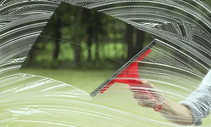 image for Window or Gutter Cleaning from Choice Service Solutions (Up to 65% Off). Four Options Available.