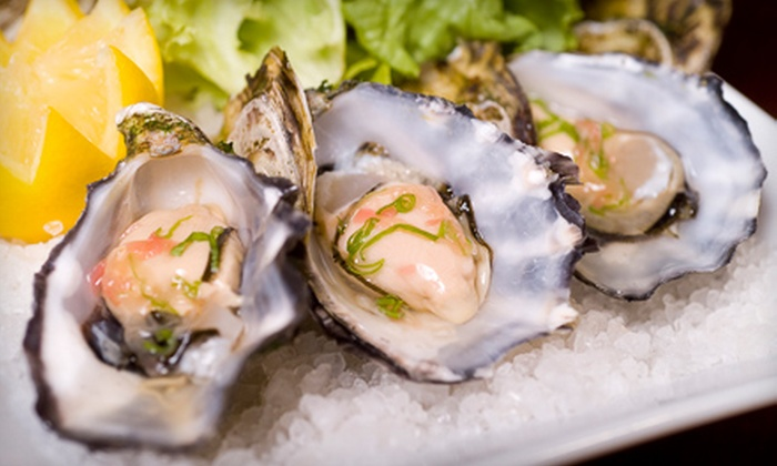 Canterbury's Oyster Bar & Grill - Canterbury's: Fresh Seafood and Steaks for Two or Four at Canterbury's Oyster Bar & Grill (Half Off)