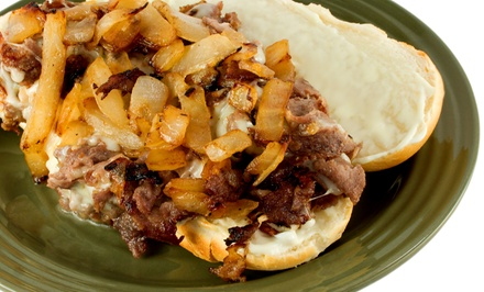 Two Cheesesteak Meals or Three Groupons, Each Good for $10 at Copeland's of Kingston (Up to 52% Off)