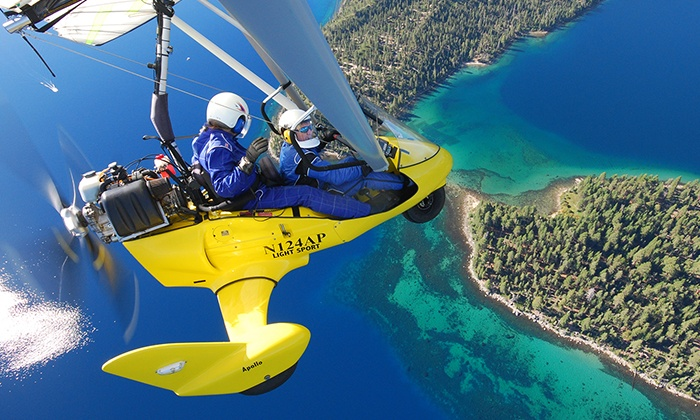 Sport Aviation Center - Sport Aviation Center: $199 for a 60-Minute Intro Lesson Plus Go Pro Video at Hang Gliding Tahoe ($400 Value)
