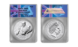 Winston Churchill 2015 Silver Coin at Winston Churchill 2015 Silver Coin, plus 6.0% Cash Back from Ebates.