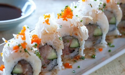$12 for $20 Worth of Sushi and Japanese Cuisine for two or more at Sushi World
