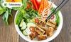 Veganes vietnamesisches Menü
