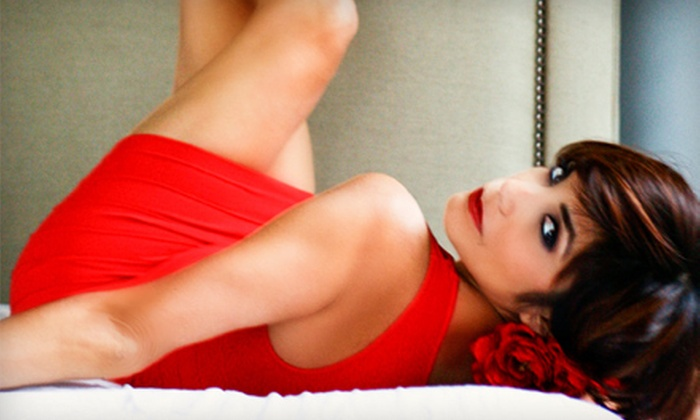 Three Boudoir - Odenton: One-Hour Boudoir Photo-Shoot Package with 2 Edited Images and 10 or 40 Original Images at Three Boudoir (Up to 81% Off)