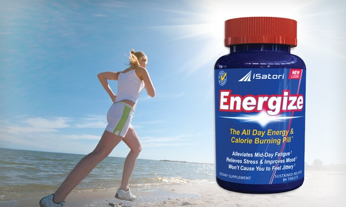 iSatori All Day Energy Supplement: $14 for One 84-Count Bottle of iSatori Energize All Day Energy Supplement ($34.99 List Price)