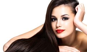 A Wild Safari Hair & Nail Salon: Haircut and Style with Optional Highlights or Color Touchup at A Wild Safari Hair & Nail Salon (Up to 51% Off)