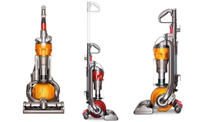 Dyson DC24 Upright Vacuum: Dyson DC24 Upright Vacuum with Technology for Multifloor or Animal Cleaning (Refurbished)