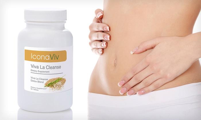 IconaViv Viva La Cleanse Supplement: $12 for IconaViv Viva La Cleanse Dietary Supplement ($59.99 List Price)