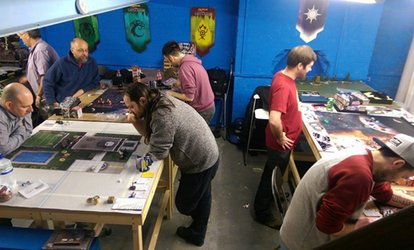 Gaming Model Painting Academy for One or Two at Lvl Up Gaming