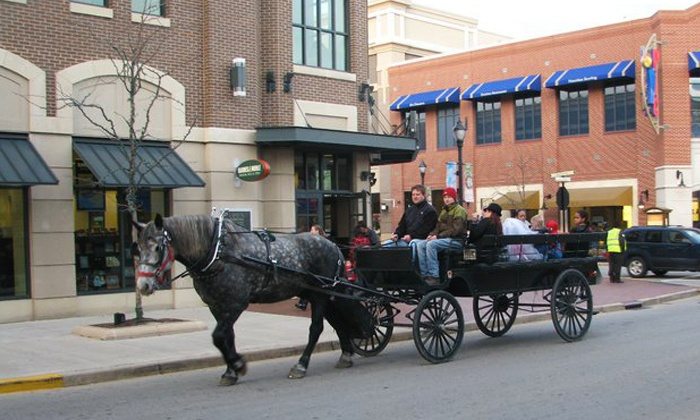 Milwaukee Coach and Carriage - Historic Third Ward: $149 for a Horse-Drawn Wagon Ride for Up to 12 from Milwaukee Coach and Carriage ($300 Value)