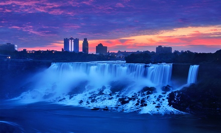 Groupon Deal: Stay with Family or Couples Package at Super 8 Niagara Falls in Niagara Falls, ON; Dates into February Available