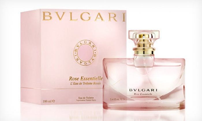 Bvlgari Women's Fragrance: $34 for a 3.4-Oz. Bottle of Bvlgari Rose Essentielle Eau de Toilette ($99 list price)