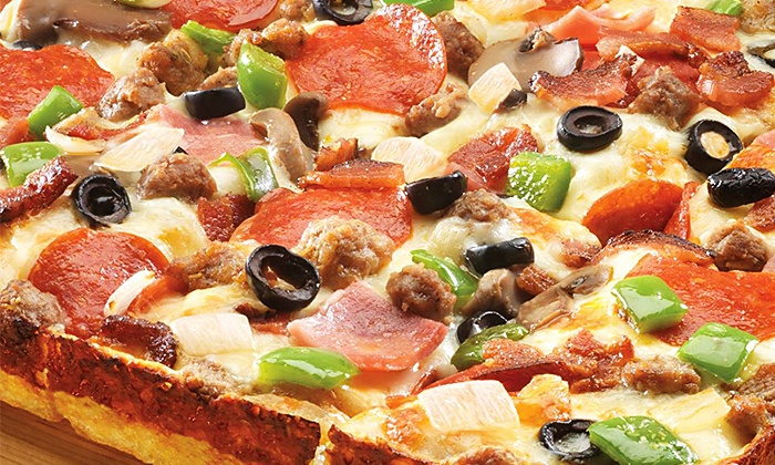 Jet's Pizza - Multiple Locations: $11 for $20 Worth of Pizzeria Food at Jet's Pizza