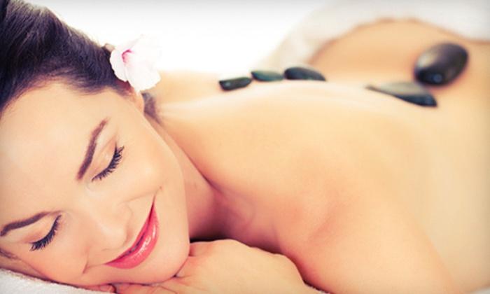 Pure Escape - Tech Park: 60- or 90-Minute Hot-Stone Massage at Pure Escape (Up to 57% Off)